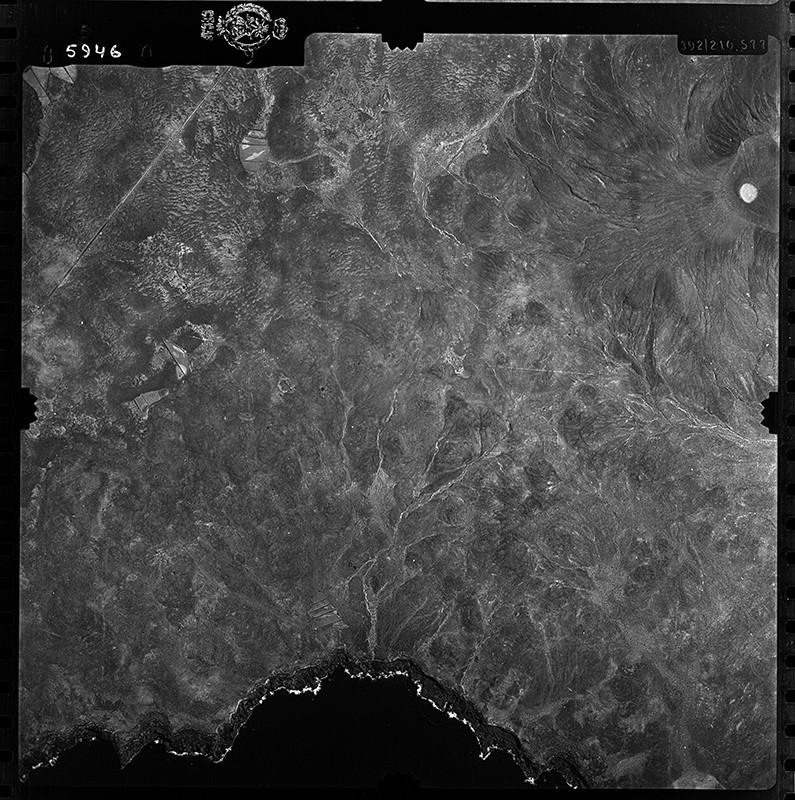 Fotografía aérea de Pechiguera en 1954 IV