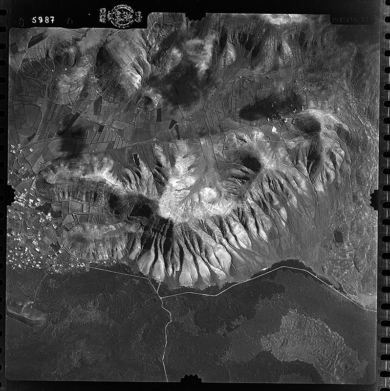 Fotografía aérea de Yaiza en 1954 II