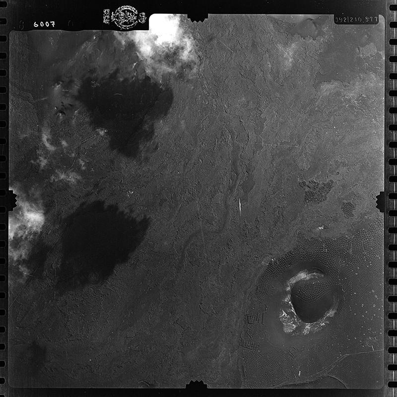 Fotografía aérea de La Geria en 1954 I