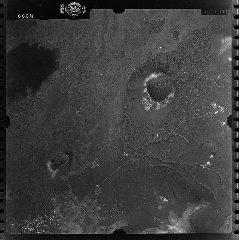 Fotografía aérea de La Geria en 1954 II