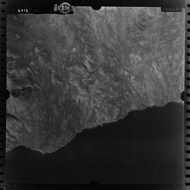 Fotografía aérea de la zona de Puerto Calero en 1954 II