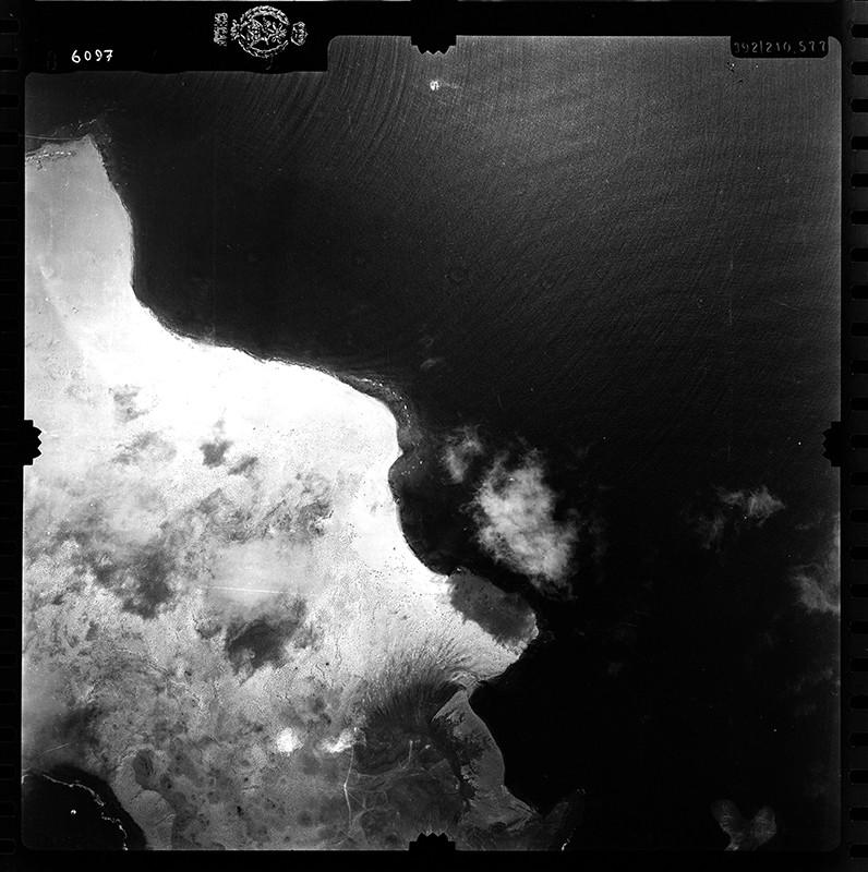 Fotografía aérea de La Graciosa en 1955 I