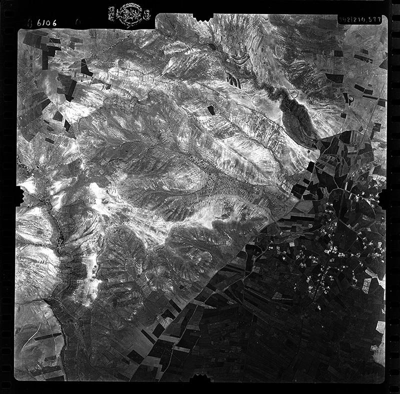 Fotografía aérea de Mala  en 1955
