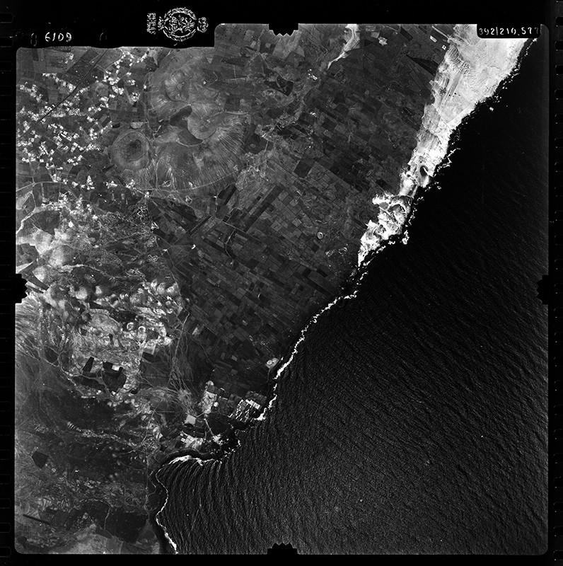 Fotografía aérea de Guatiza en 1955 II