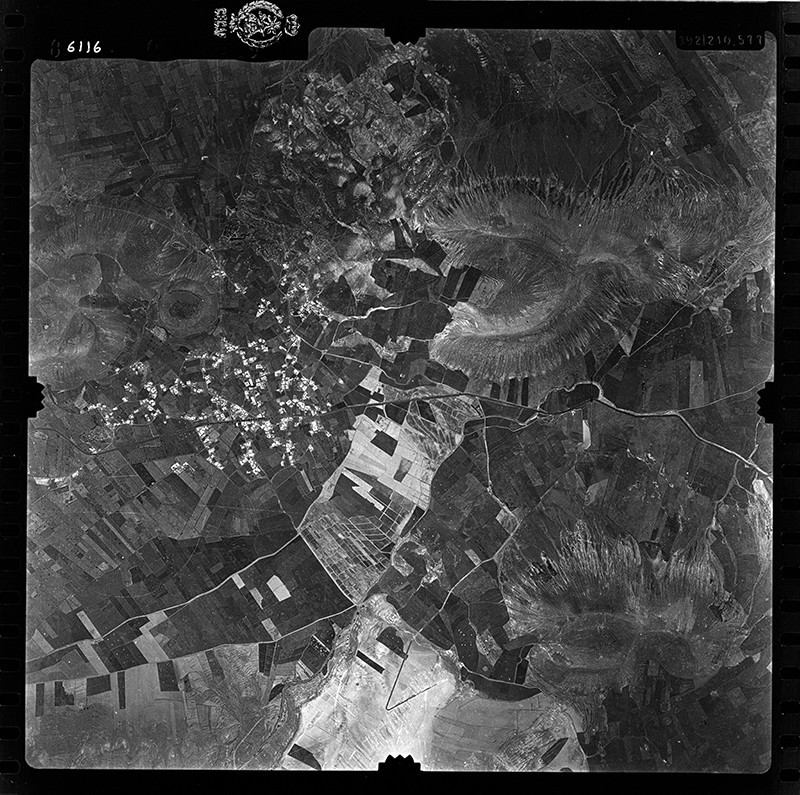 Fotografía aérea de Guatiza en 1955 IV
