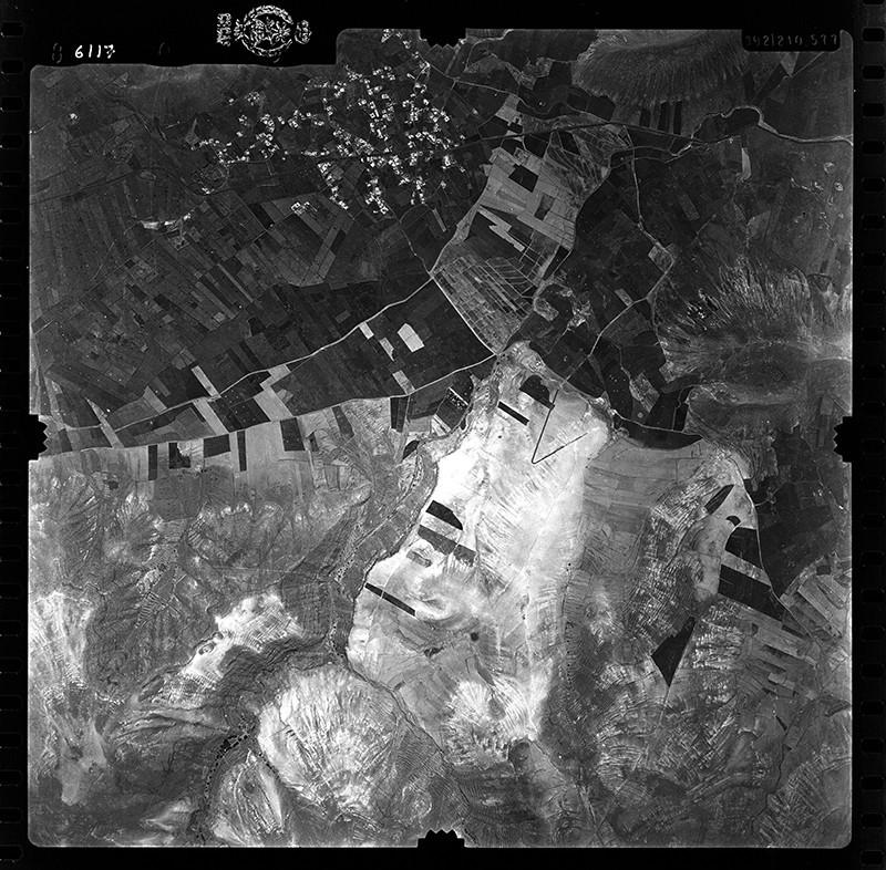 Fotografía aérea de Guatiza en 1955 V