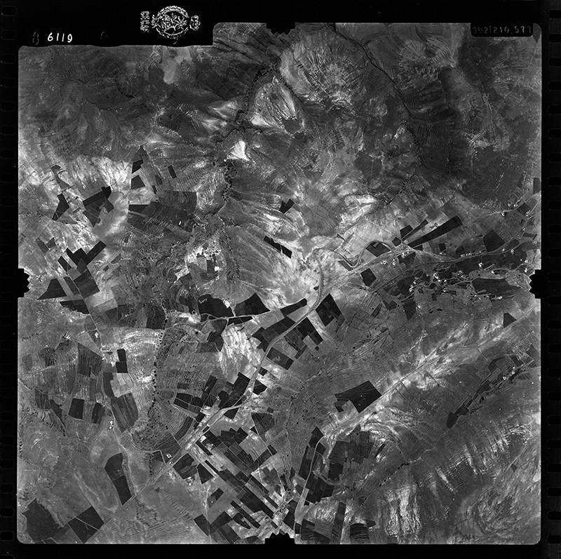 Fotografía aérea de Los Valles en 1955 I