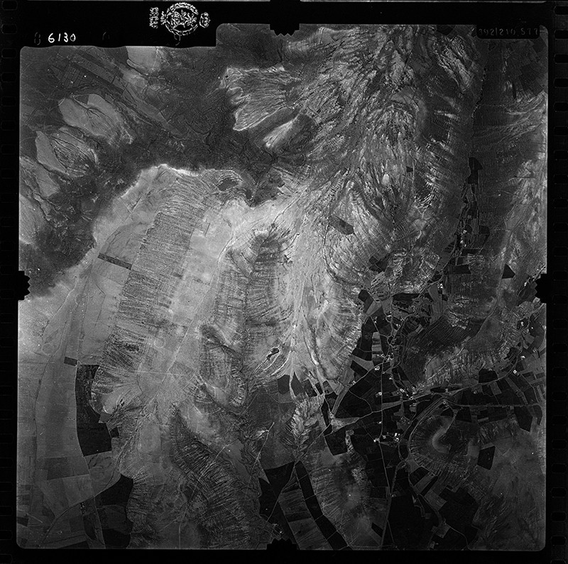 Fotografía aérea de Los Valles en 1955 V