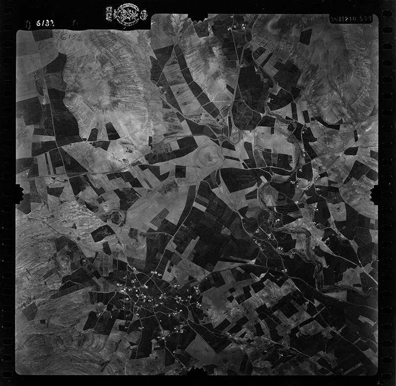 Fotografía aérea de El Mojón y Teseguite en 1955 I