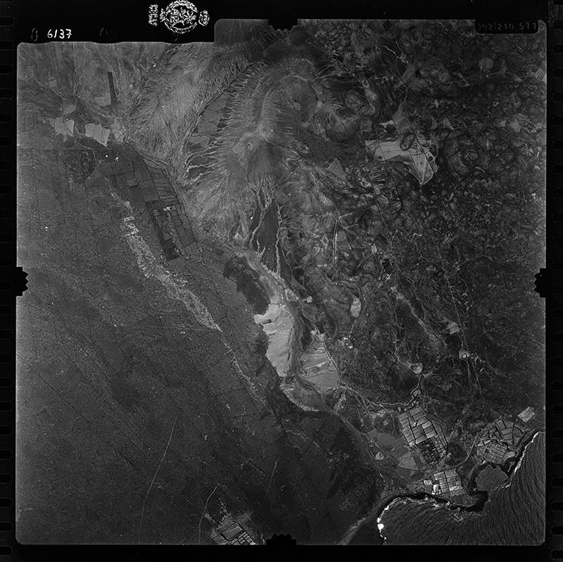 Fotografía aérea de Costa Teguise en 1955 II