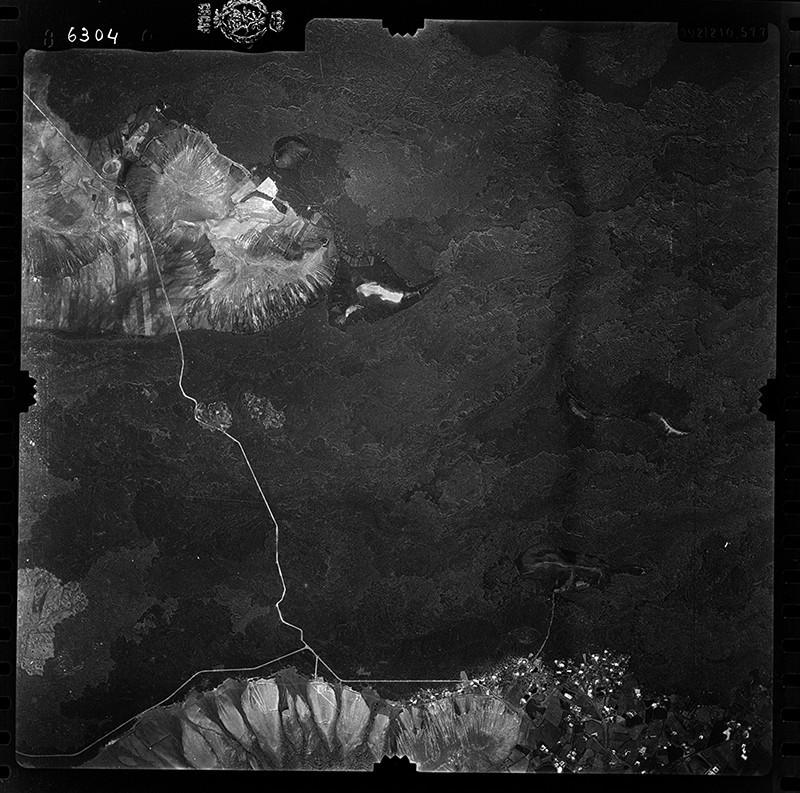 Fotografía aérea de Yaiza en 1955 I