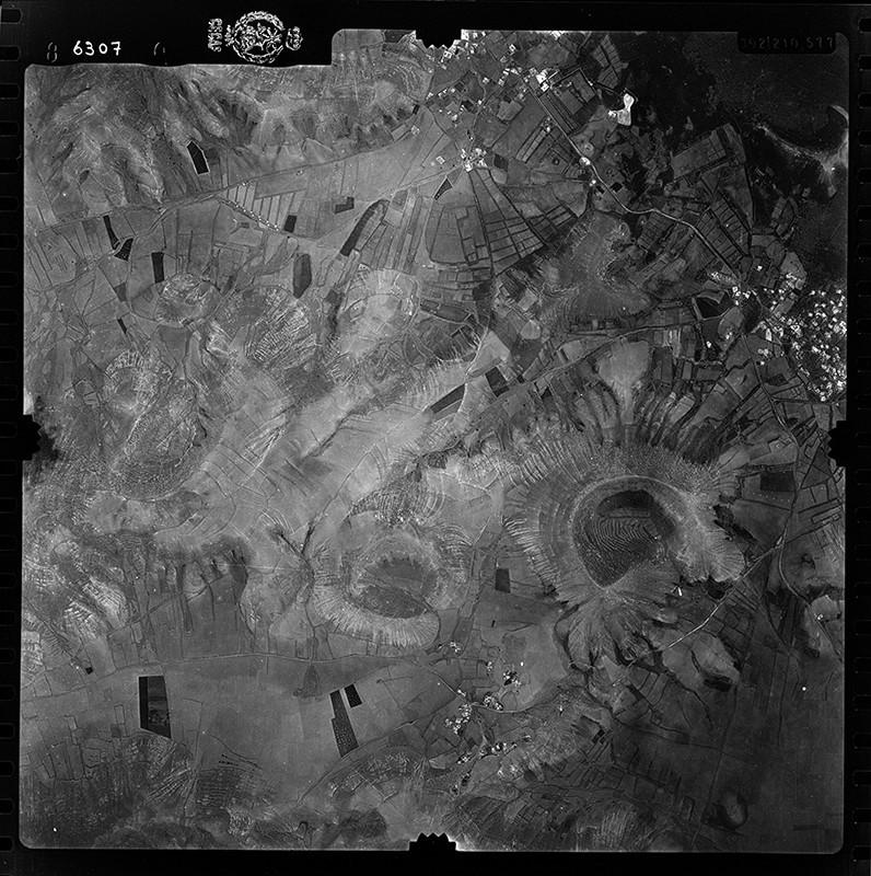 Fotografía aérea de Yaiza y Uga en 1955 II