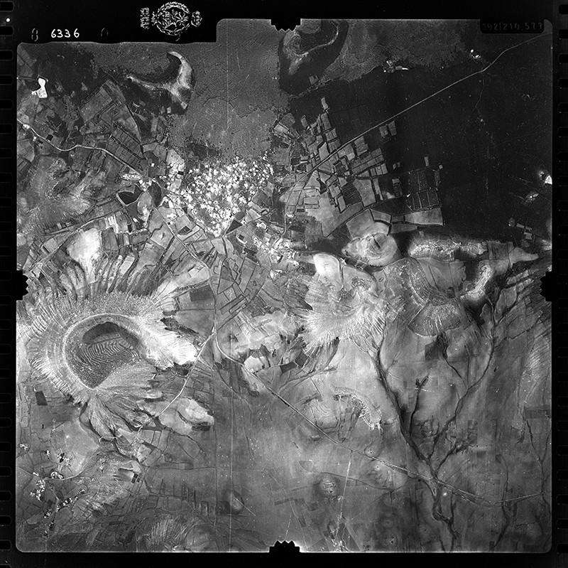 Fotografía aérea de Uga en 1955 III