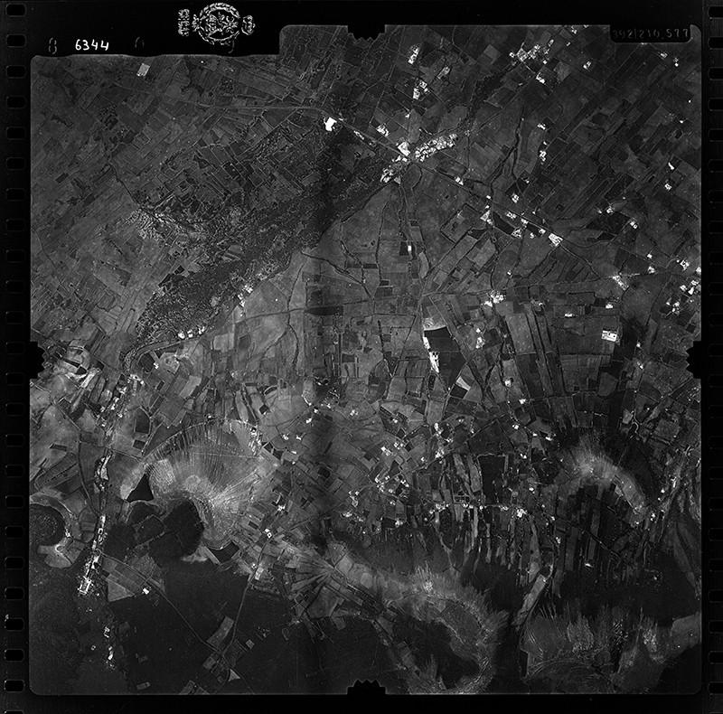Fotografía aérea de La Asomada en 1955 I