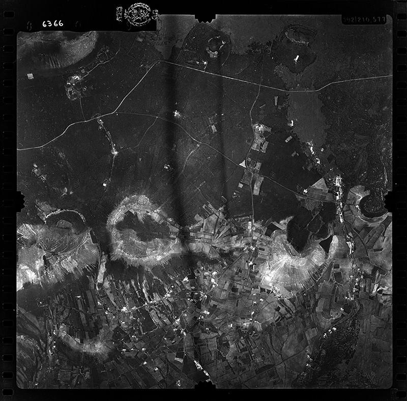 Fotografía aérea de La Asomada en 1955 III