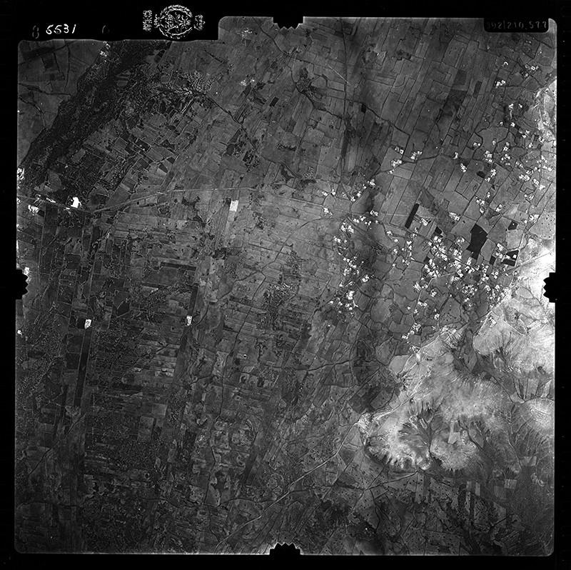 Fotografía aérea de Tías en 1956 I