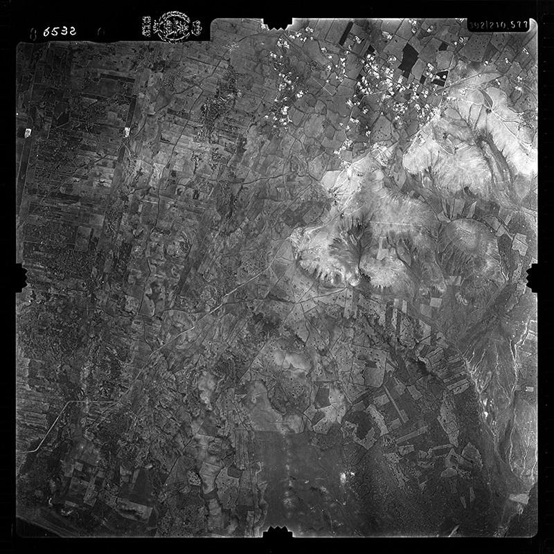 Fotografía aérea de Tías en 1956 II
