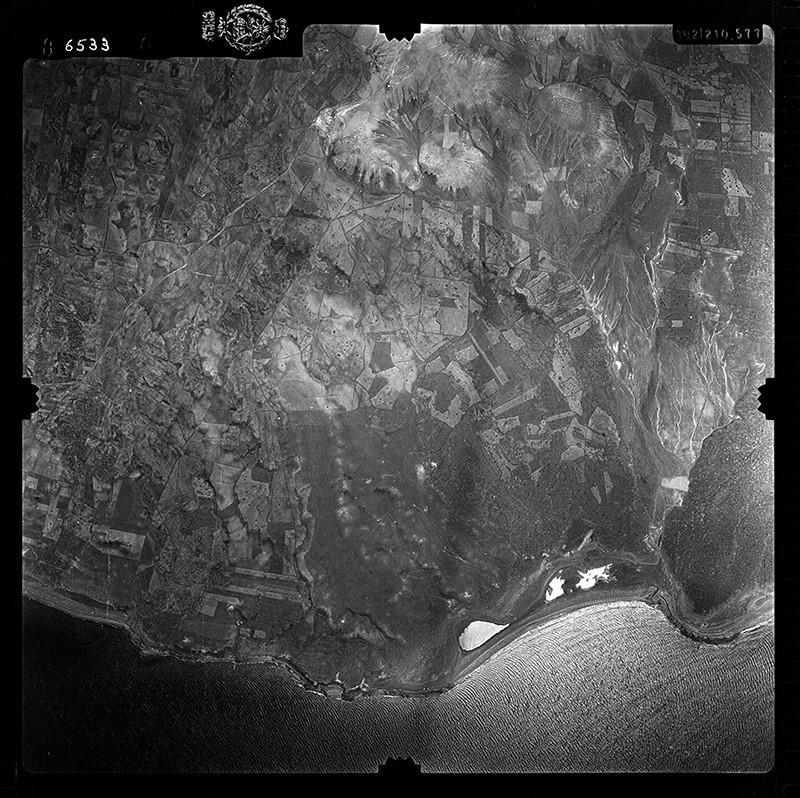 Fotografía aérea de Puerto del Carmen en 1956 I