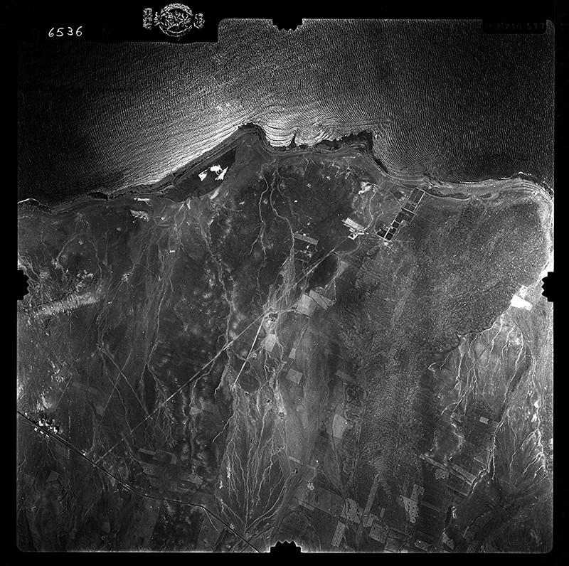 Fotografía aérea de Matagorda en 1956