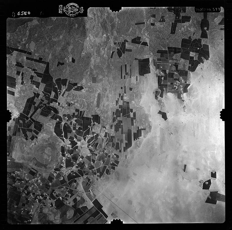 Fotografía aérea de Tinajo en 1956 III