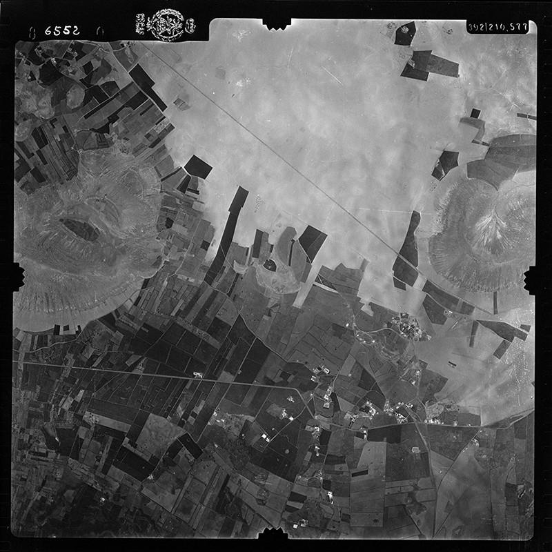 Fotografía aérea de La Vegueta en 1956 I