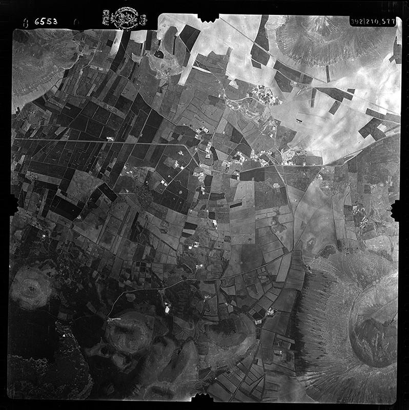 Fotografía aérea de La Vegueta en 1956 II