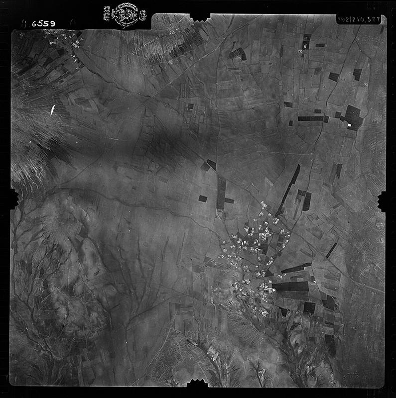 Fotografía aérea de Güime en 1956 I