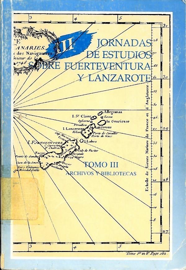 Una aproximación al panorama bibliotecario de las islas de Fuerteventura y Lanzarote