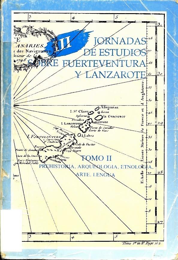 Comentario toponímico de Lanzarote a propósito de una antigua carta geográfica