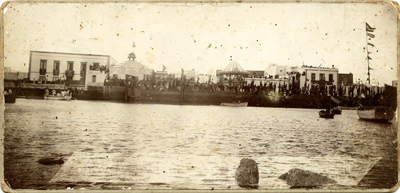 Visita de Alfonso XIII a Arrecife I