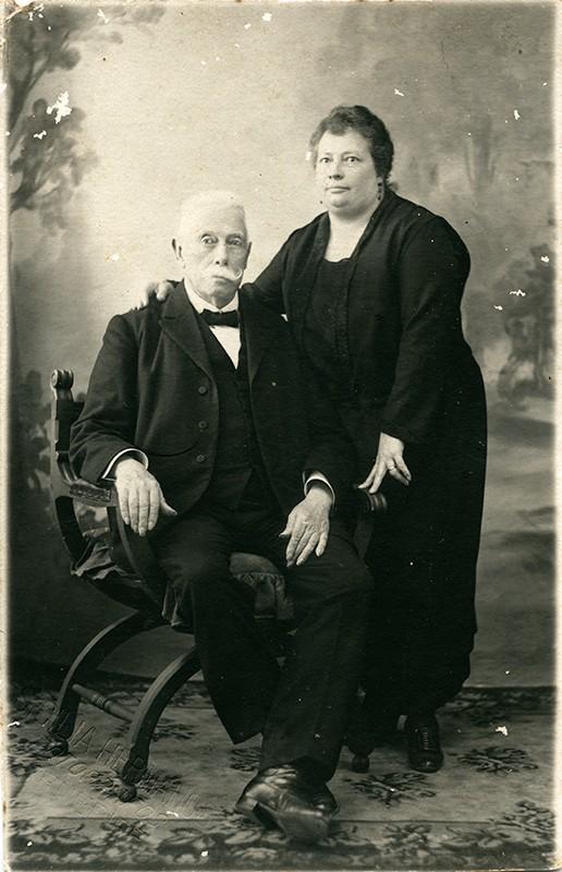 Blas Cabrera Topham y su hija