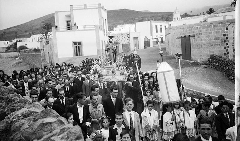 Procesión de San Juan en Haría