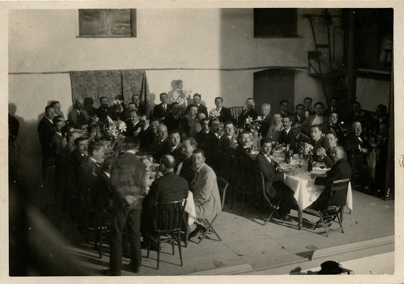 Cena en el Cine Díaz Pérez