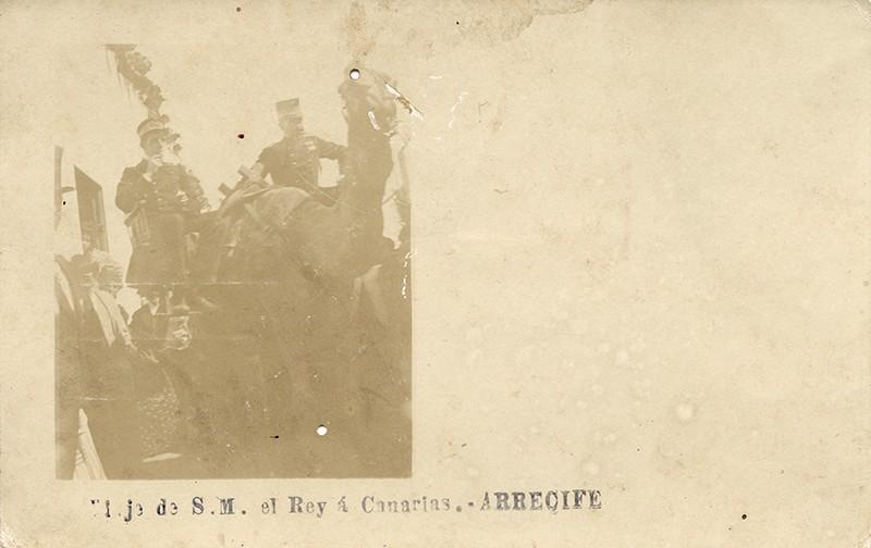 Visita de Alfonso XIII a Arrecife IV