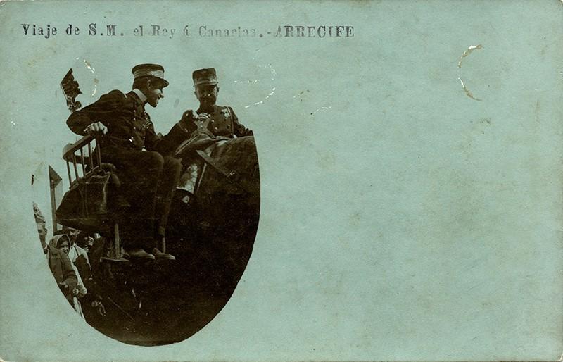 Visita de Alfonso XIII a Arrecife V