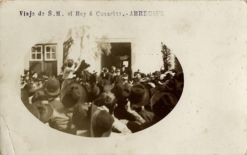 Visita de Alfonso XIII a Arrecife VI