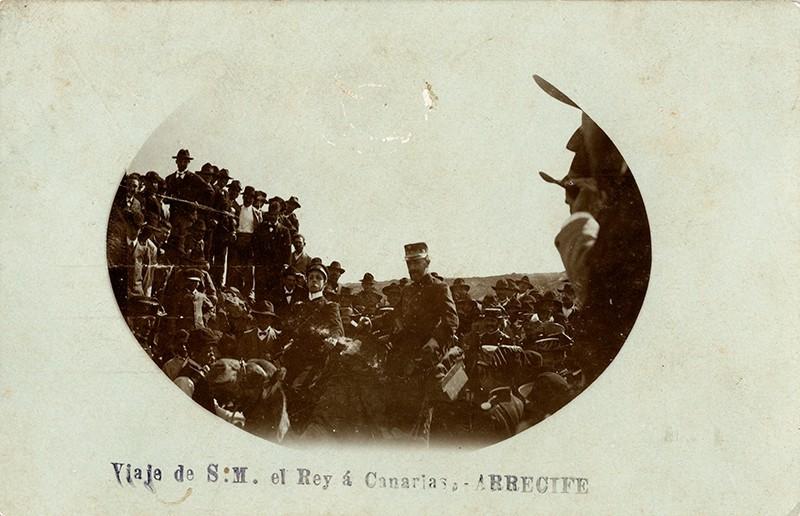 Visita de Alfonso XIII a Arrecife VIII