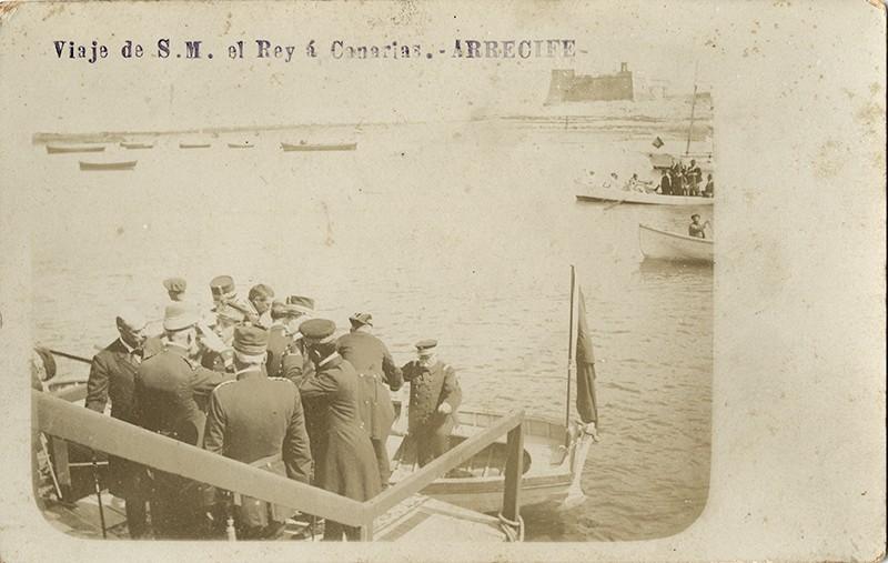 Visita de Alfonso XIII a Arrecife IX