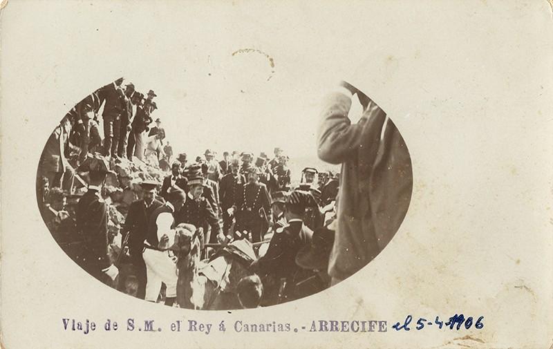 Visita de Alfonso XIII a Arrecife XI