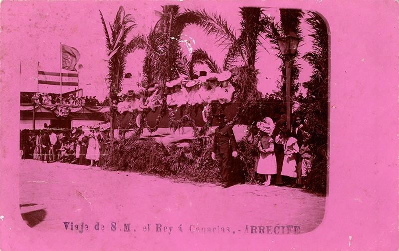 Visita de Alfonso XIII a Arrecife XII