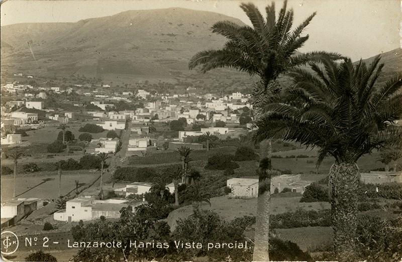 Postal antigua de Haría I