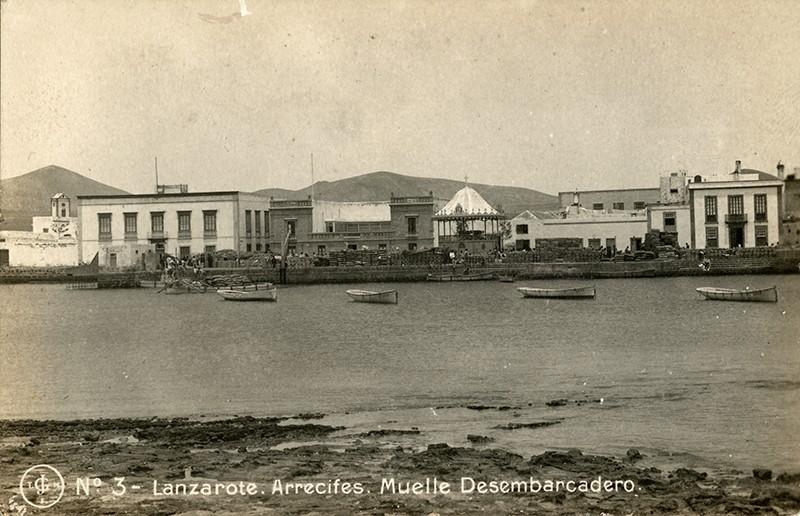 Postal antigua de Arrecife I