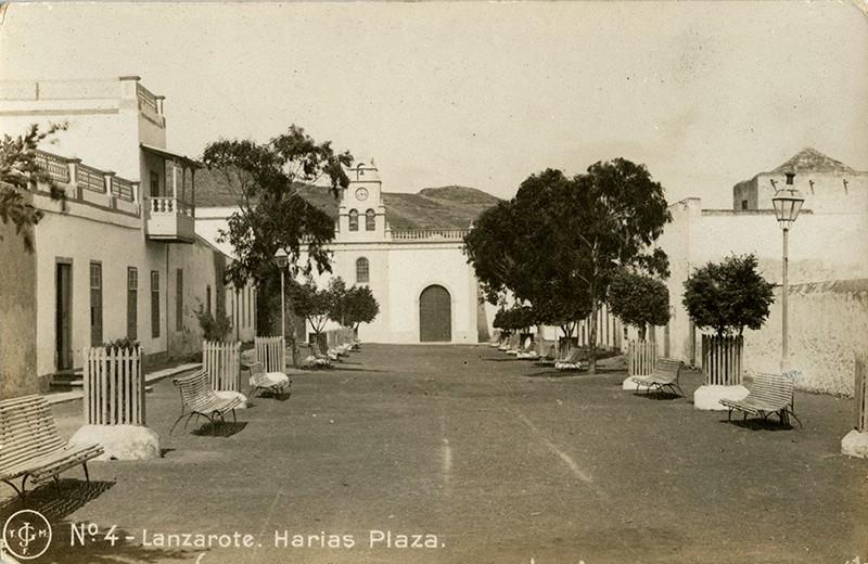 Postal antigua de Haría II
