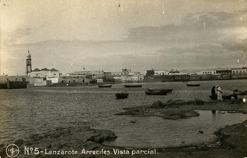 Postal antigua de Arrecife II