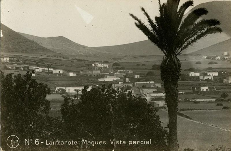 Postal antigua de Máguez