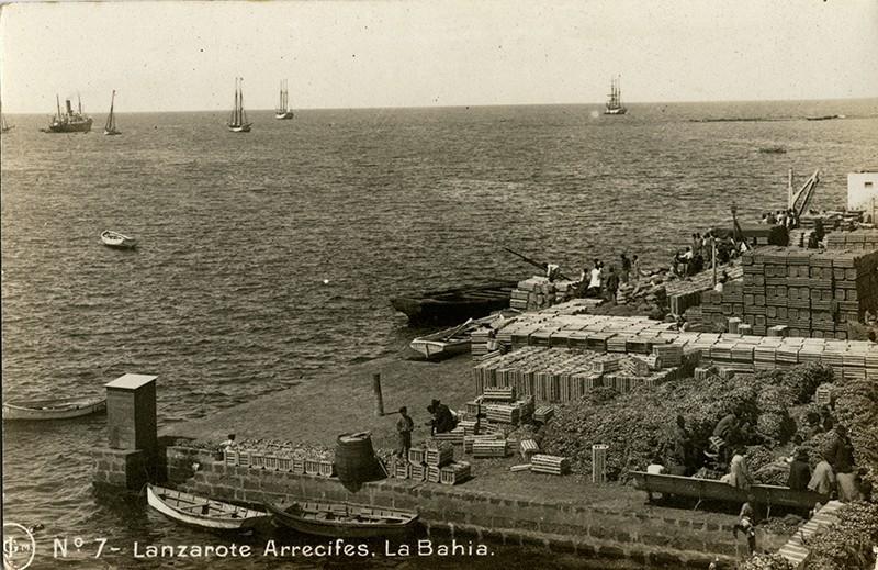 Postal antigua de Arrecife III