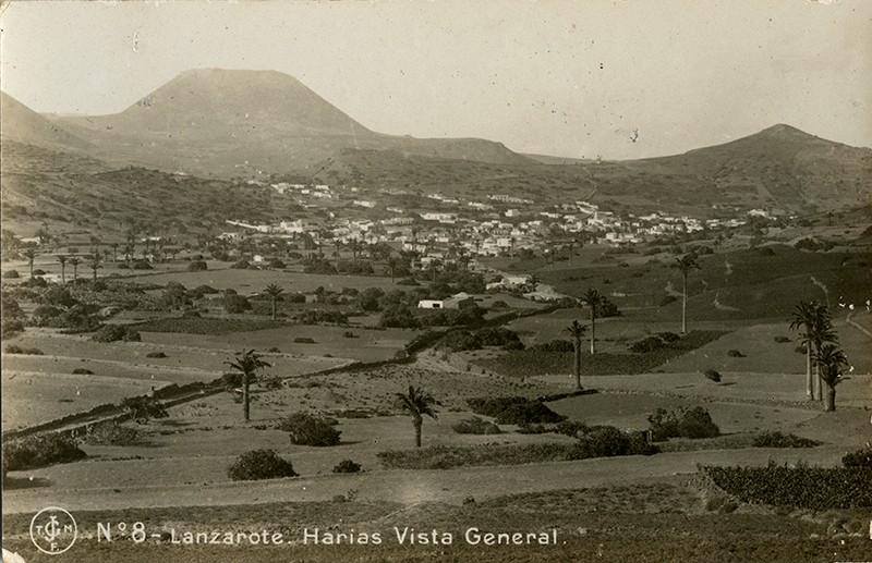 Postal antigua de Haría III