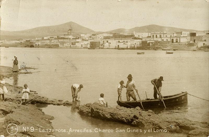 Postal antigua de Arrecife IV