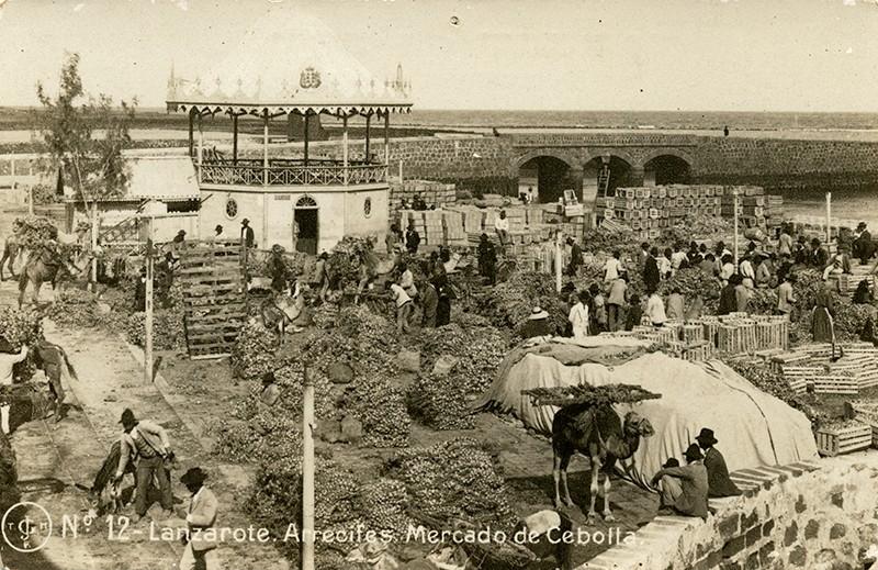 Postal antigua de Arrecife V