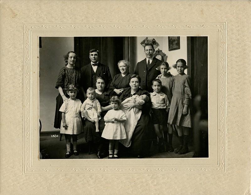 Francisco Matallana Chamorro y su familia